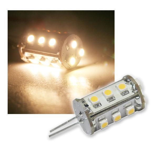 G4 LED-Lampe 15x 3528 SMD LEDs warm weiß 75lm