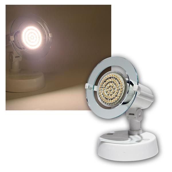 """""""Top P"""" Spot weiß, 1-flg E14, warmweiß, 60 LEDs"""