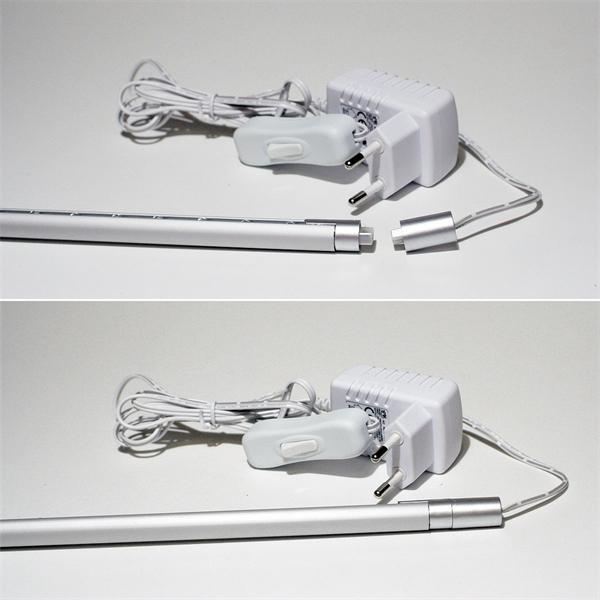 Komplett Set an LED Lichtleisten mit Steckernetzteil