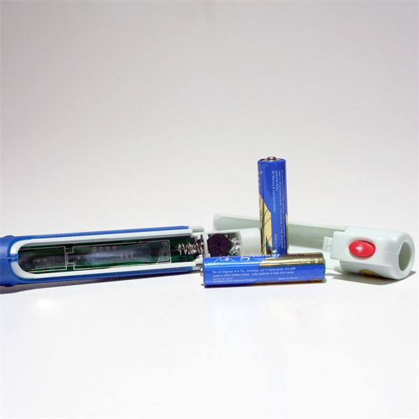 Stromprüfer mit Batteriebetrieb und Befestigungsclip