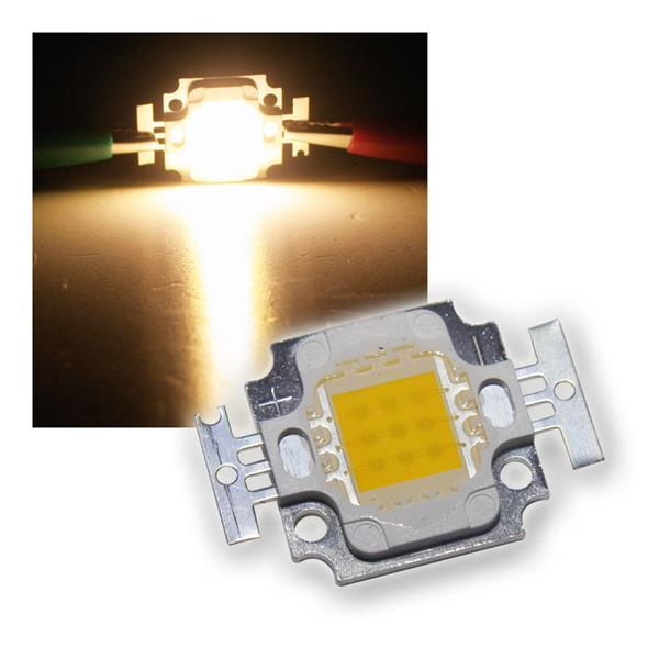 LED Chip 10W Highpower warmweiß SQUARE