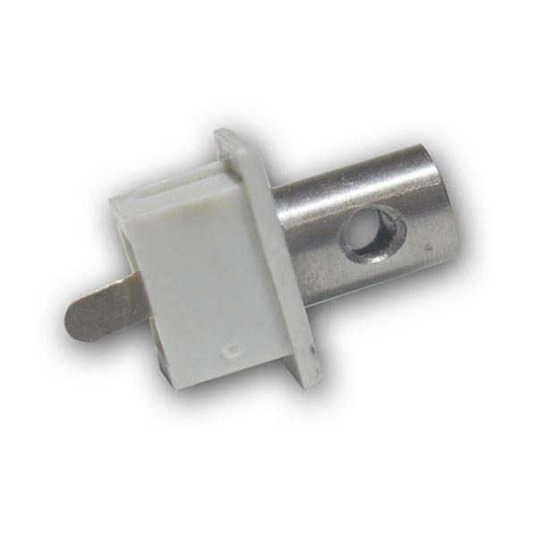Endkappe/Anschluß f LED Aluminium-Profil PL-U Std