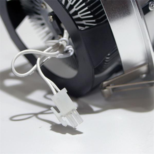 LED Downlight für 24V DC mit ca. 15W Verbrauch und Kunststoffsteckverbindern