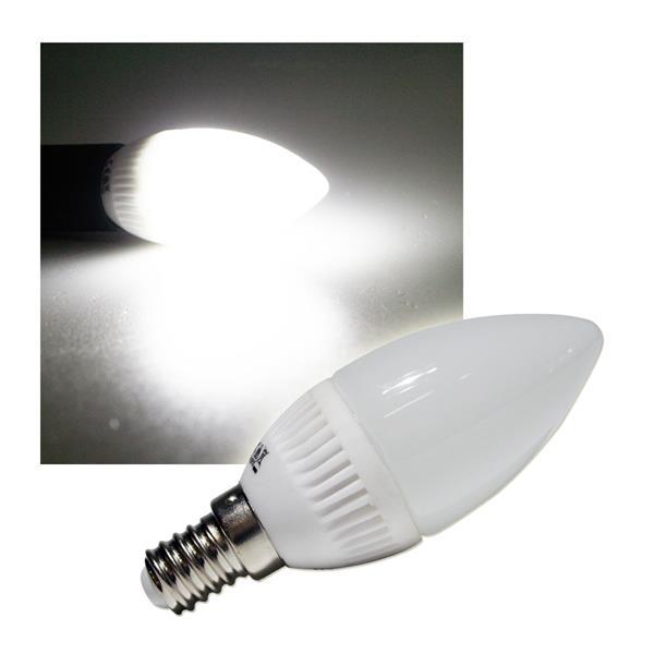 LED-Kerzenlampe E14 K20 SMD kalt weiß 180lm 230V