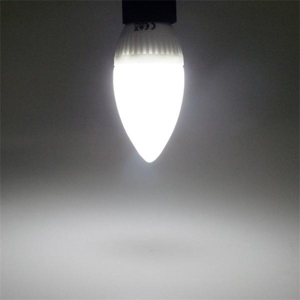 LED Kerzenleuchte mit ca. 180 Lumen Lichtstrom und unschlagbarem 360° Abstrahlwinkel