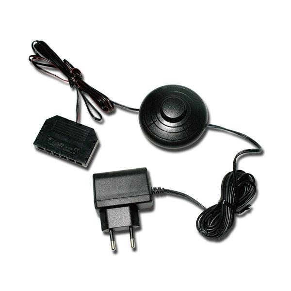 Steckernetzgerät m 6-fach LED Verteiler & Schalter
