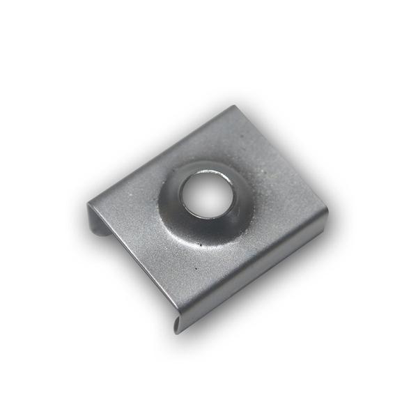 """Halteclip für 1m LED Aluminium-Profil """"PL-Oval"""""""