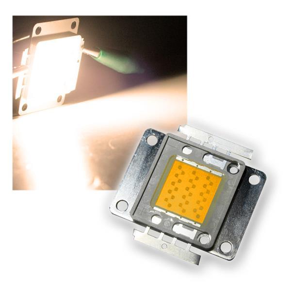 LED Chip 30W Highpower warmweiß SQUARE