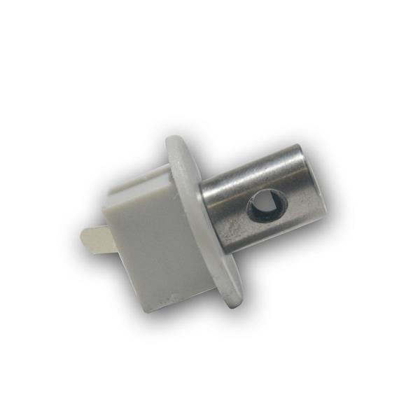 """Endkappe/Anschluß f LED Aluminium-Profil """"PL-Oval"""""""