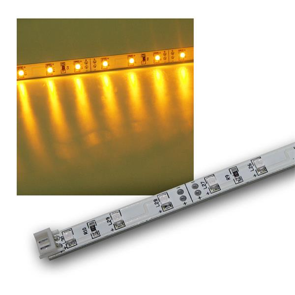 SMD LED Leiste gelb 12V DC 48cm steckbar indoor