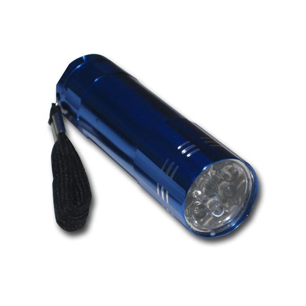 MINI LED-Taschenlampen 4er Pack, 9 LEDs, Color Up