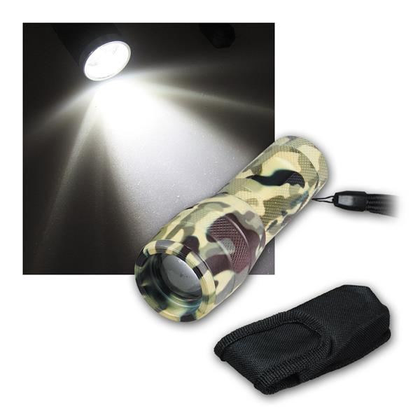 "LED-Taschenlampe ""3W Special Forces"" HIGHPOWER 3W"