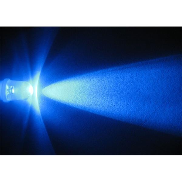 LED E10 Leuchtmittel für helle und moderne Optik in blau