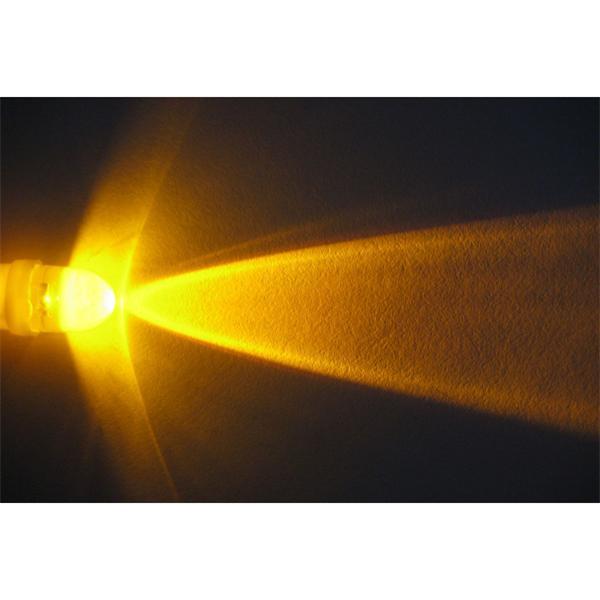 LED E10 Leuchtmittel für helle und moderne Optik in gelb