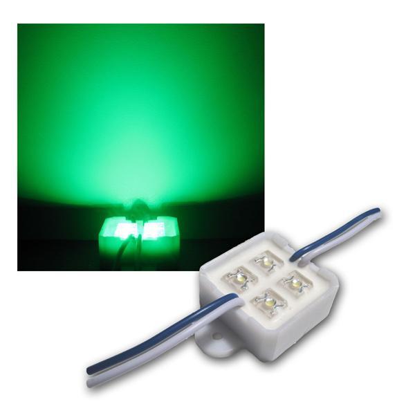 SuperFlux LED Modul Grün 4 LEDs  Spot IP65
