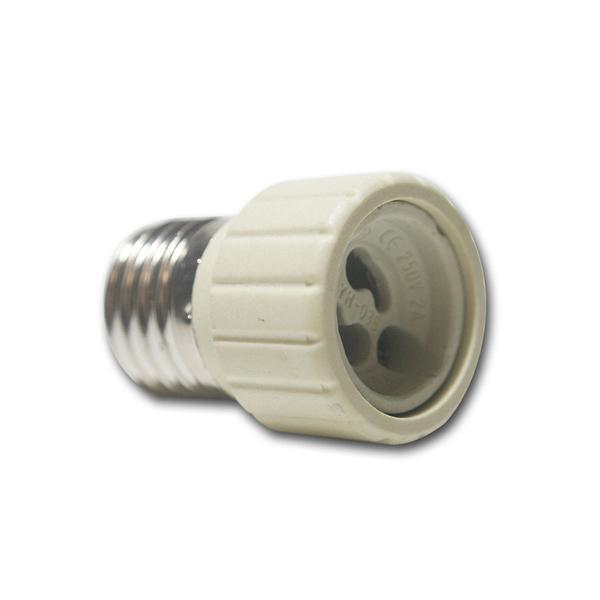 Lampenfassung Adapter E27 auf GU10 Fassung