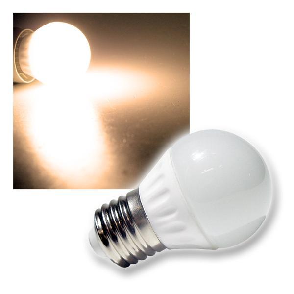LED-Tropfenlampe T25 SMD E27 warm weiß 230V