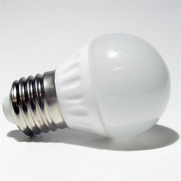 LED Glühbirne Tropfen mit dem Maß 45x73mm und 16 lichtstarke SMD LEDs Typ 5630