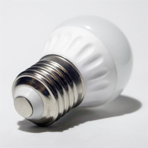 LED Lampe mit dem Sockel E27 für 230V und nur ca. 3W Verbrauch