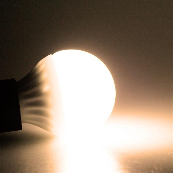 LED Leuchtmittel mit breitem Abstrahlwinkel und 220lm warm weißem Licht