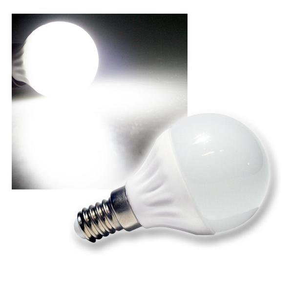 LED-Tropfenlampe T25 SMD E14 kalt weiß 240lm