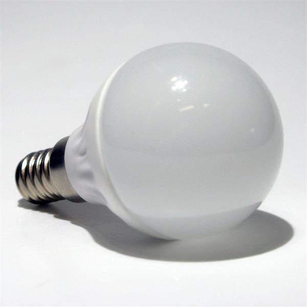 LED Glühbirne Tropfen mit dem Maß 45x78mm und 16 lichtstarke SMD LEDs Typ 5630