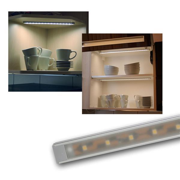 Set LED Lichtleisten WTN-Flat warmweiß / kaltweiß