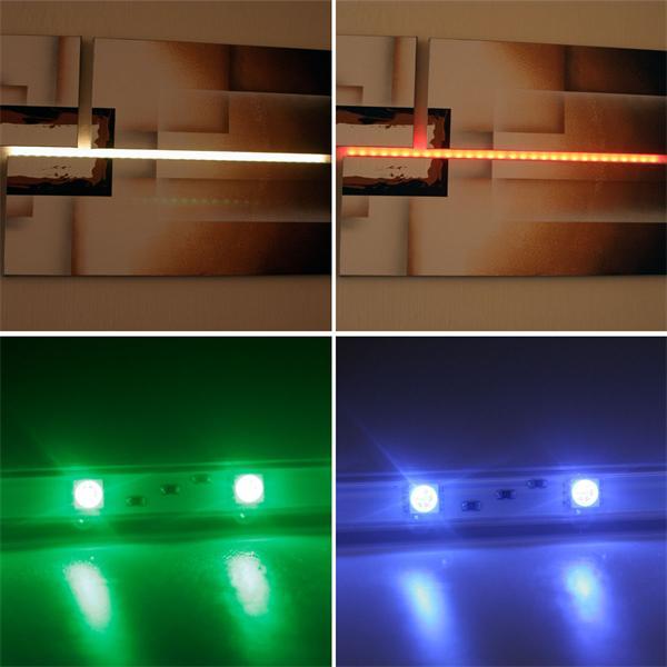 RGB LED Lichtlösung für Schränke, Vitrinen oder Regale