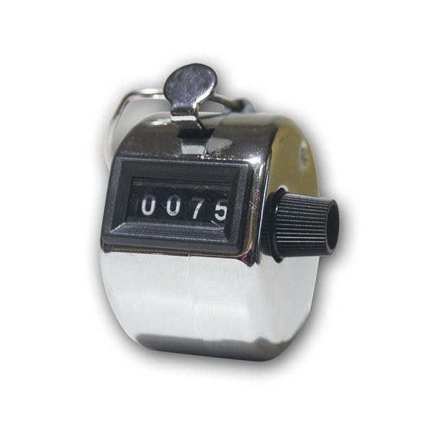 Mechanischer Handzähler, Zahlkapizität 0-9999