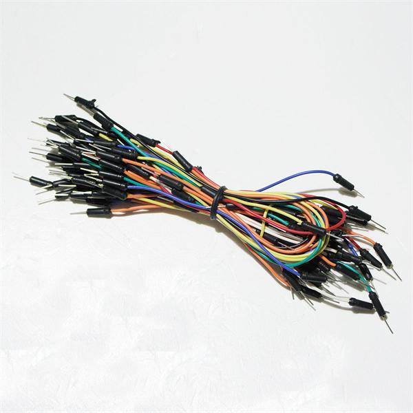flexible Verbinder in verschiedenen Farben und Längen