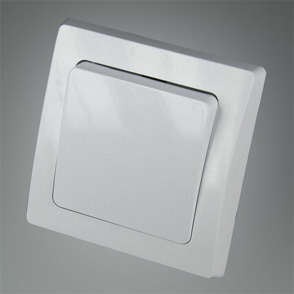 Taster-Schalter für 230V komplett, elegant und hochwertig