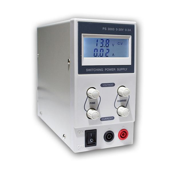 """Regelbares Labornetzgerät """"CTL-3"""" 0-30V/0-3A"""