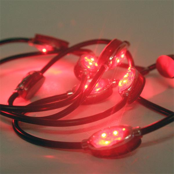 LED Lichtmodul aus Kunststoff mit breitem Abstrahlwinkel