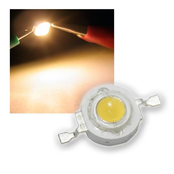 """Highpower LED 1W warmweiß, Typ """"WTN-1W-90ww"""""""