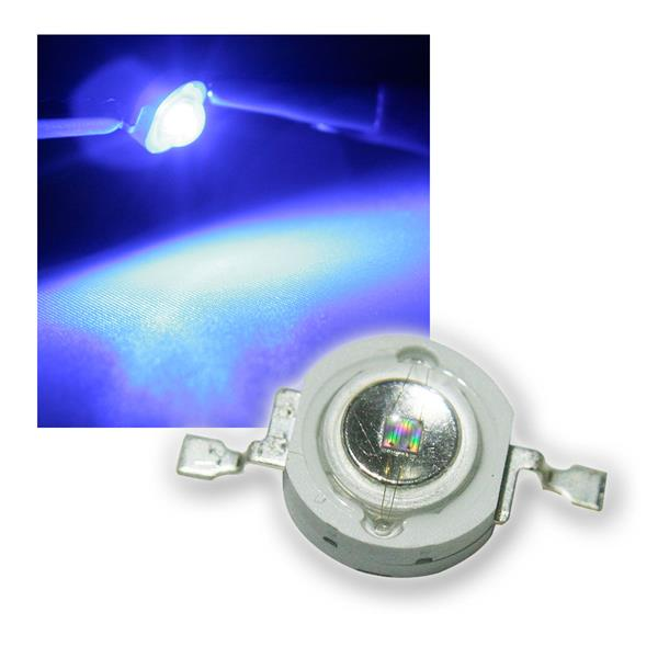 "Highpower LED 1W blau, Typ ""WTN-1W-20b"" 1 Watt"