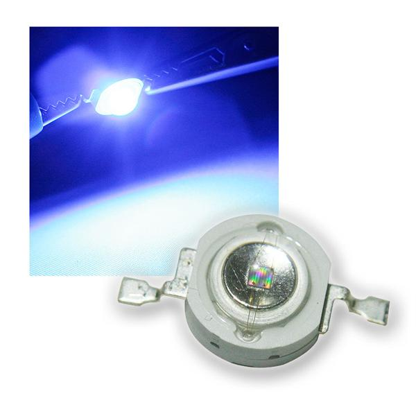 "Highpower LED 3W blau, Typ ""WTN-3W-45b"" 3 Watt"