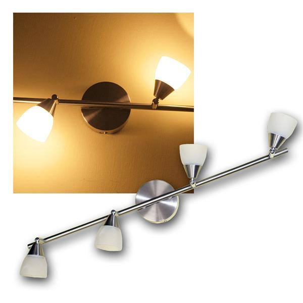 """Spotleuchte """"Venus"""" 4-flammig 3W LED warmweiß 230V"""