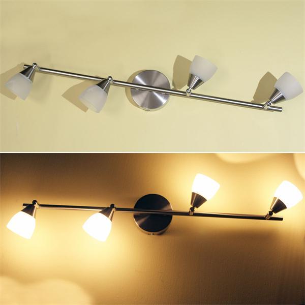LED Deckenleuchte mit alabasta weißen Lampenschirm