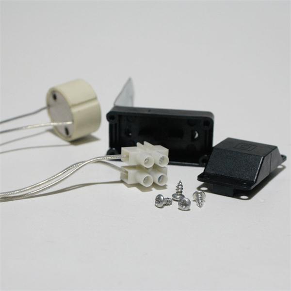 2-polige Lüsterklemme für 230 Volt in Anschlußbox