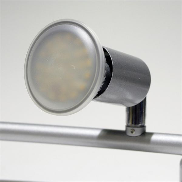 LED Spotleuchte mit GU10 LED Leuchtmitteln mit je 2,5W