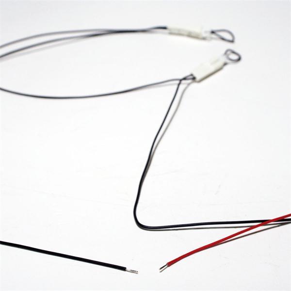 Verteiler mit losen Kabelenden für den Stromanschluss
