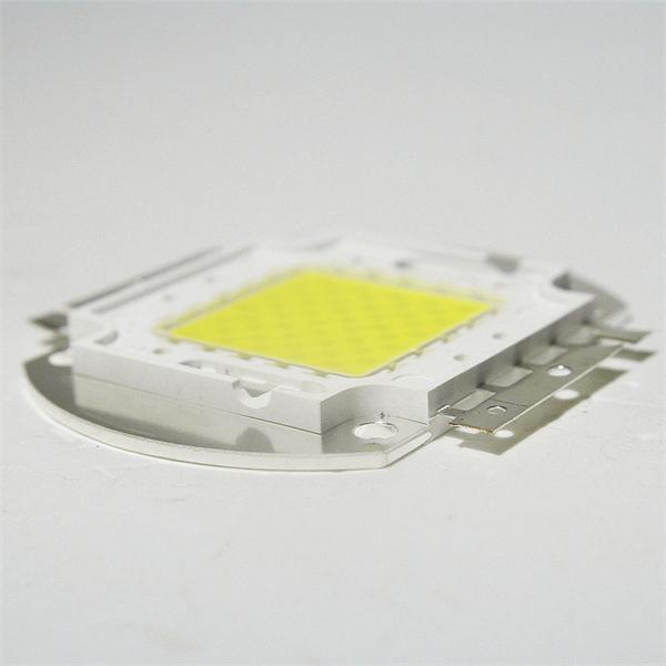 HighPower LED auf Aluminiumplatine aufgelötet