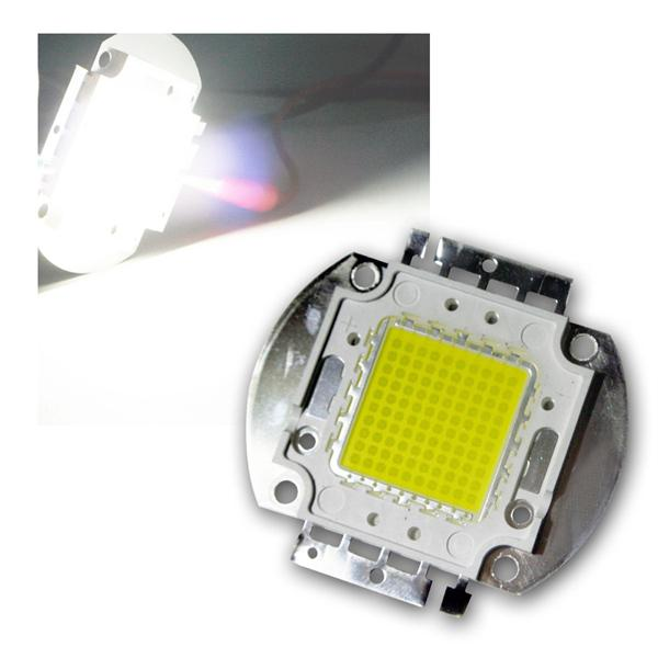 LED Chip 100W Highpower kalt-weiß SQUARE