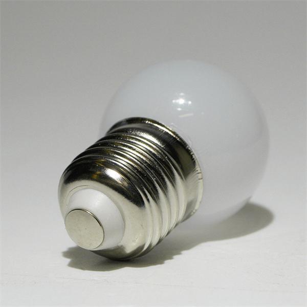 LED Energiesparlampe mit dem Sockel E27 für 230V und nur ca. 0,4W Verbrauch