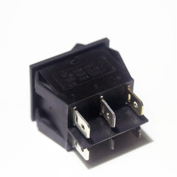 Schalter mit Flachsteckanschlüssen 6,3mm für Kabelschuhe