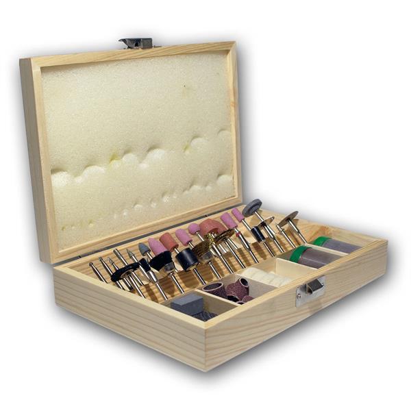 Polier- & Schleifstiftset, 100-teilig