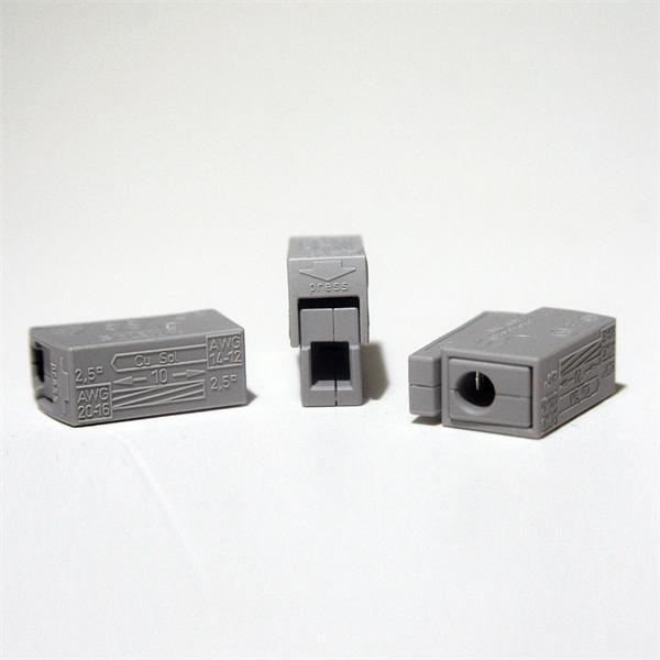 Steckklemmen zum Verbindung von eindrahtigen und mehrdrahtigen Leitern