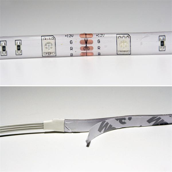 LED Strip mit SMD LEDs für den Innenbereich mit Klebestreifen