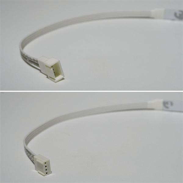 LED SMD flexibler Streifen mit Steckverbindern an beiden Seiten