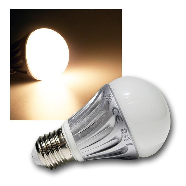 LED-Glühlampe E27 G50 Dim warm weiß 500lm dimmbar